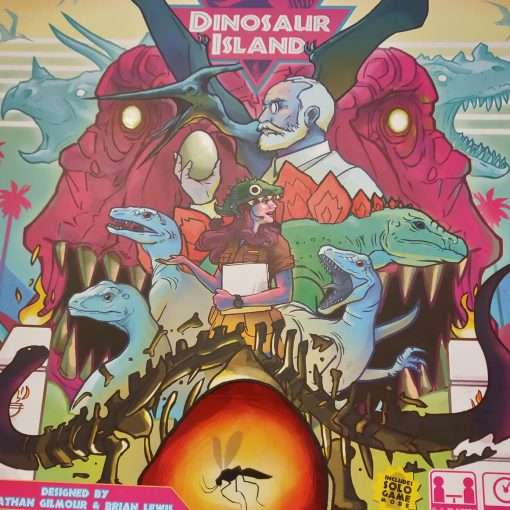 Dinosaur Island Brætspil
