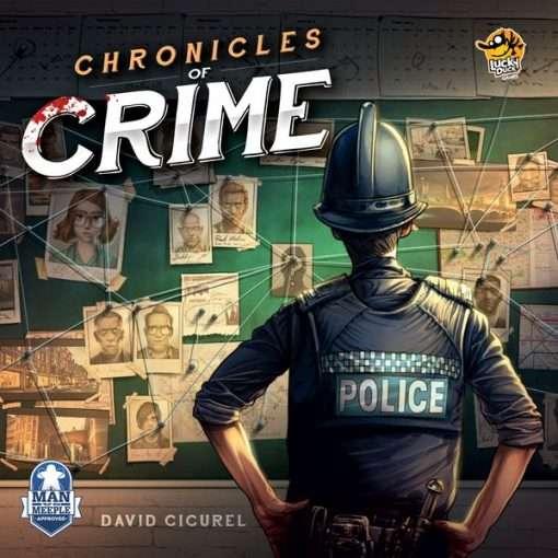 Chronicles of Crime Brætspil