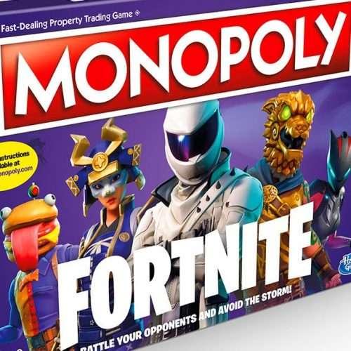 Monopoly Fortnite Brætspil