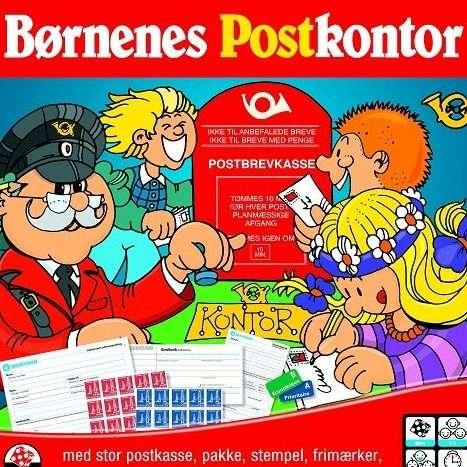 Børnenes Postkontor Brætspil