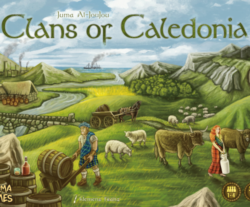 Clans of Caledonia brætspil