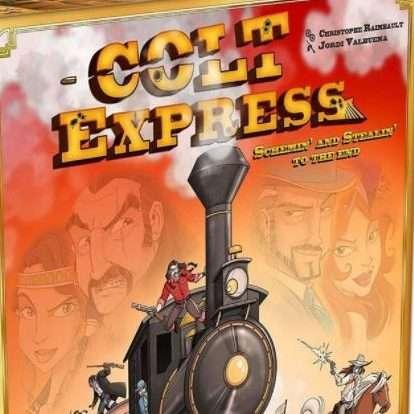 Colt Express Brætspil